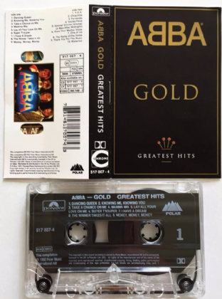 Abba ‎- Gold: Greatest Hits (Cassette Album) (VG+/VG)